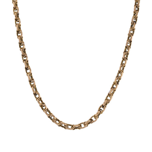 Vintage Gold Double Cable Link Chain