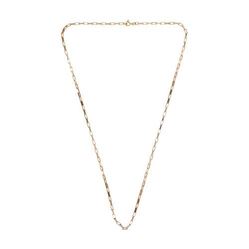 Image of Second Hand 9ct Gold Paper Link Chain