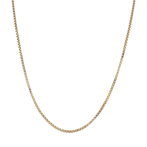 Second Hand 9ct Gold Box Chain
