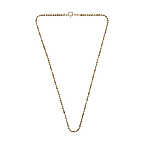 Image of Second Hand 9ct Gold Solid Rope Chain