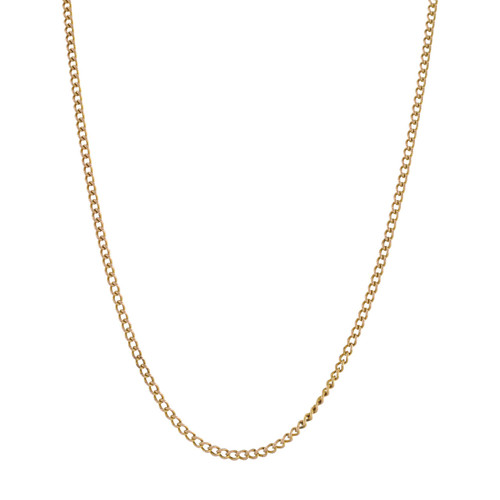 Second Hand 9ct Gold Curb Chain
