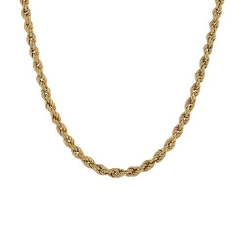 Second Hand 9ct Gold Rope Chain