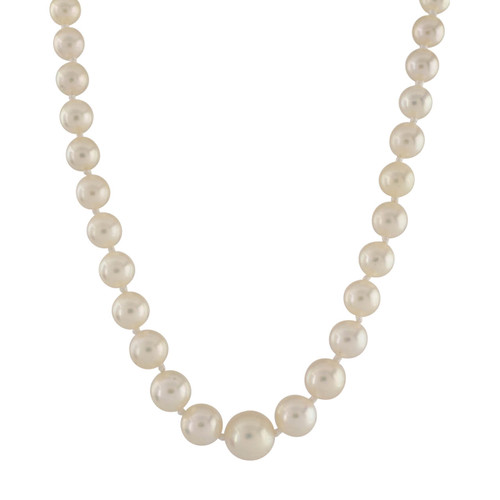 Second Hand Graduated Cultured Pearl Necklace