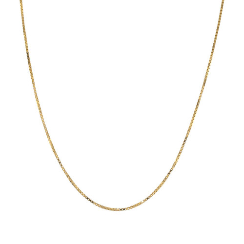 "Pre Owned 18ct Gold 24"" Box Chain"