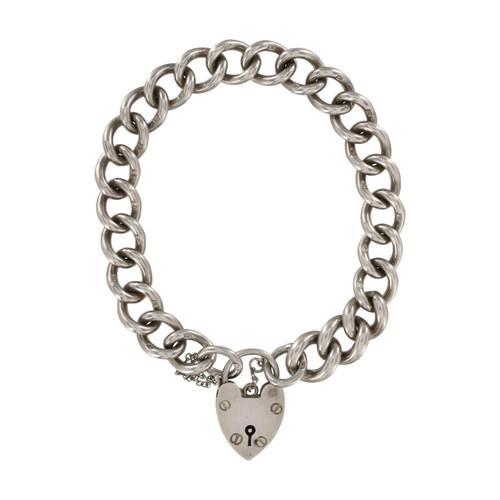 Second Hand Silver Charm Bracelet
