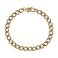 Second Hand 9ct Gold Curb Bracelet