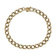 Second Hand 9ct Gold Curb Bracelet