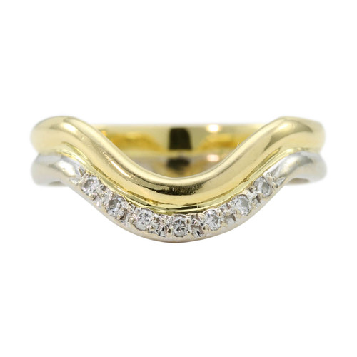 Second Hand 18ct Diamond Dip Eternity Ring