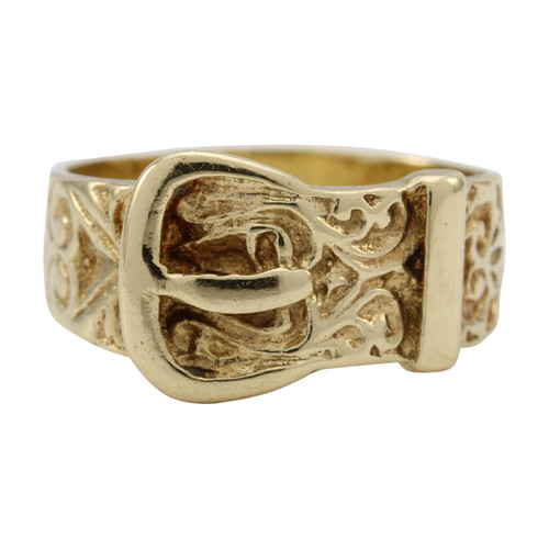 Second Hand Buckle Ring 9ct Gold