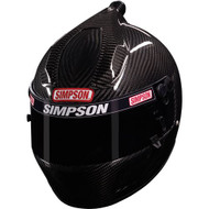 SIMPSON CARBON AIR INFORCER SHARK HELMET SNELL SA2015 MEDIUM / LARGE 59cm 7 3/8""