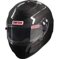 Simpson Carbon Devil Ray Helmet Snell Sa2015 Xs-Xxl Msa Hans M6