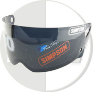 Simpson Helmet Black Visor For M30 Bandit Uk Delivery