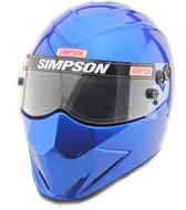 Simpson Diamondback Helmet Snell Sa2015 sa2020 Blue sa2020