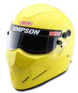 SIMPSON DIAMONDBACK HELMET SNELL SA2015 YELLOW