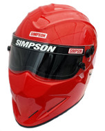 SIMPSON DIAMONDBACK HELMET SNELL SA2015 RED
