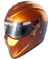 Simpson Diamondback Helmet Snell Sa2015 Copper Bronze