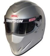 Simpson Diamondback Helmet Snell Sa2015 sa2020 Silver sa2020