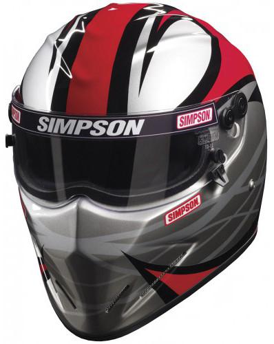 Simpson Racing Helmets >> Simpson Diamondback Helmet Snell Sa2015 Adrenaline Firestorm Racing Uk