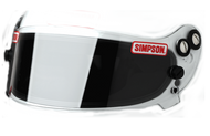 Simpson Devil Ray Helmet Visor Shield Clear