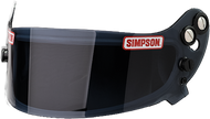 Simpson Devil Ray Helmet Visor Shield - Smoke