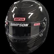 Simpson Carbon Venator Pro Helmet Snell Sa2015 Fia 8860