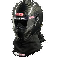 Simpson Carbon Drag Bandit Helmet Snell Sa2015