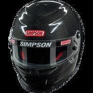 Simpson Carbon Venator Helmet Snell Sa2015 Msa Hans M6 Xs-Xxl