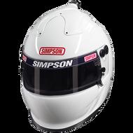 SIMPSON AIR INFORCER VUDO HELMET SNELL SA2015 MSA HANS M6 XS-XXL