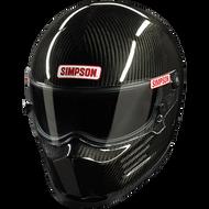 Simpson Carbon Bandit Helmet Snell Sa2015  Fia 8859 Msa Hans