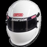 SIMPSON VUDO EV1 HELMET SNELL SA2015 MSA M6 HANS XS-XXL