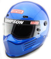 Simpson Super Bandit Helmet Snell Sa2020 Blue