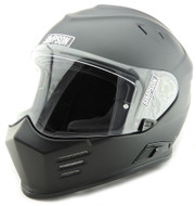 Simpson Ghost Bandit Venom Helmet Ece Uk Road Legal Matt Black Xs-Xxl