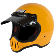 Simpson M50 Motorcycle Helmet Dot Approved Gloss Yellow