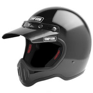 Simpson M50 Motorcycle Helmet Dot Approved Gloss Black