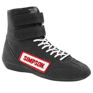 Simpson Car Racing Hightop Driving Shoes Sfi 5
