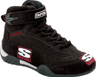 SIMPSON YOUTH ADRENALINE CAR DRIVING SHOES SFI.5, BLACK