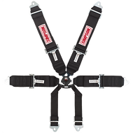 "Simpson CamLock, T-Bar, 3"" Shoulders, 3"" Lap, Clip-In Harness"
