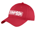 SIMPSON 60th ANNIVERSARY VINTAGE HAT RED