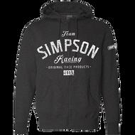Simpson Team GREY ASPHALT Zip Hoodie Fleece