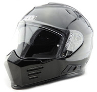 Simpson Ghost Bandit Venom Helmet Ece Road Legal Uk Gloss Black Xs-Xxl
