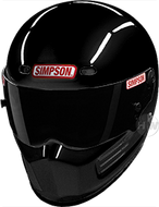 Simpson Super Bandit Helmet Snell Sa2015 Gloss Black