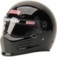 Simpson Super Bandit Helmet Snell Sa2020 Gloss Black
