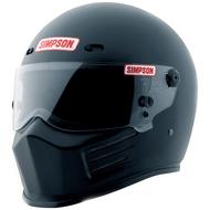 SIMPSON SUPER BANDIT HELMET SNELL SA2015 MATT BLACK
