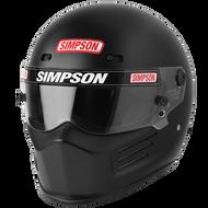 Simpson Super Bandit Helmet Snell Sa2020 Matt Black