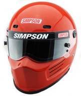 Simpson Super Bandit Helmet Snell Sa2020 Red