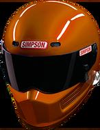 SIMPSON SUPER BANDIT HELMET SNELL SA2015 COPPER