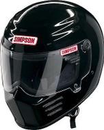 Simpson Outlaw 2 Helmet Snell M2015 Gloss Black Xs-Xxl
