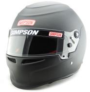 Simpson Venator Helmet Snell Sa2015 Hans M6 Msa Xs-Xxl Matt Black
