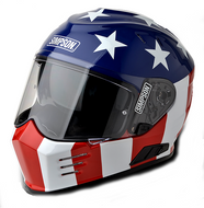 SIMPSON GHOST BANDIT HELMET ECE DOT ROAD LEGAL USA GLORY LIMITED EDITION