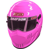 Simpson Speedway Rx Helmet Snell Sa2015 Msa Hans M6 Xs-Xxl Pink